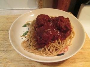 Spaghetti Meatballs LaRosa Sauce 001