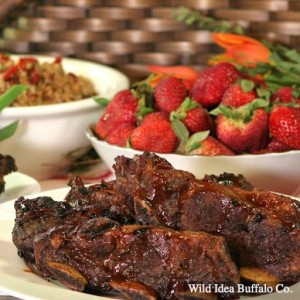 Wild Idea Buffalo BBQ Short Rib Strips