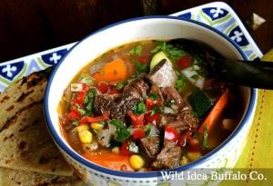 Wild Idea Buffalo Caldo de Bisonte (Bison Soup)