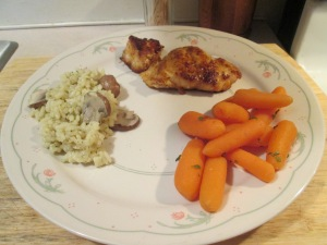 Blackened Grouper Risotto Carrots 001
