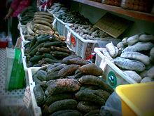 Dried sea cucumbers