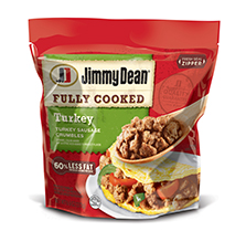 Jimmy Dean Fully Cooked Turkey Sausage Crumbles