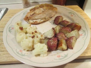 Roasted Chicken and Cauliflower 005