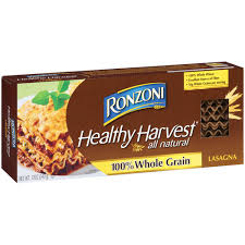 Ronzoni Healthy Harvest Whole Grain Lasagna