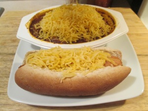Skyline Chili Spaghetti  Hot dog 003
