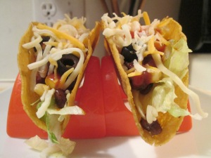 Turkey Tacos w Jim. Dean Crumbles 004