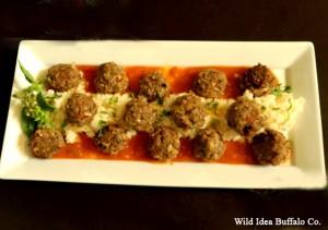 Wild Idea Buffalo Italian Buffalo Meatballs