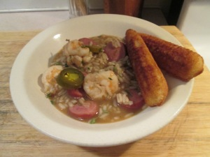 Zatarains Gumbo and Rice 002