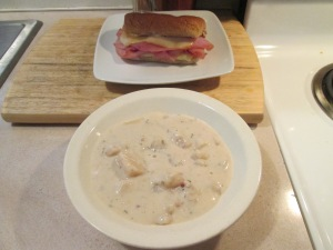 Baked Ham and Muenster Pot Soup 001
