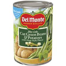 Del Monte Cut Green Beans and Potatoes