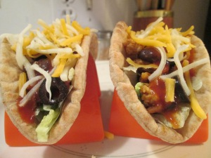Turkey Black Bean Pita Tacos 003