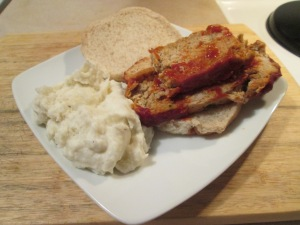 Turkey Meatloaf Sandwich 004