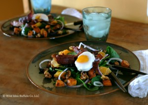 Wild Idea Buffalo Winter Buffalo Bacon & Spinach Salad