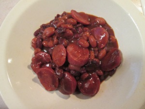 Beans and Smoked Turkey Sausage 005