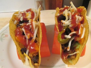 Black Bean and Turkey Tacos  Feb 14 004