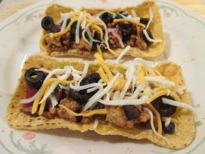 Black Bean Turkey Fiesta Flats 005