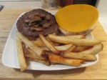 Colby Mushroom Buffalo Burger002
