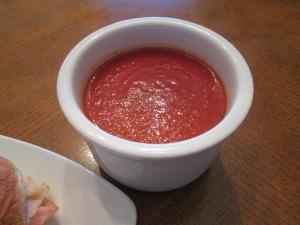 Ham Turkey Baked Sub Tomato Soup 011