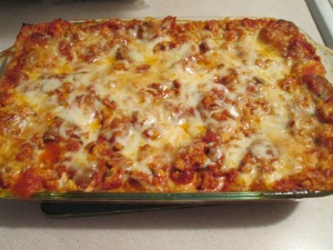 Healthy Harvest Turkey Lasagna 002