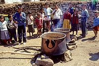 Parboiling of bulgur in central Turkey