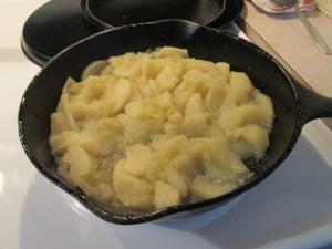 Turkey Steak Fried Apples 001