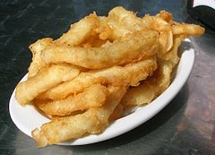 Cantabrian Rabas - deep fried squid body rings and tentacles