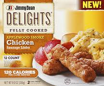 Jimmy Dean Applewood Smoked Chicken Sausage Links