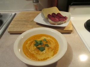 Spicy Asian Carrot Soup 001