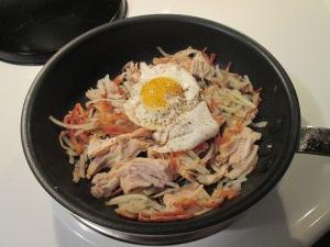 Turkey Potato Hash Egg 001