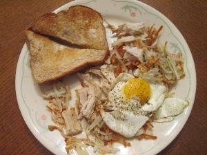 Turkey Potato Hash Egg 004
