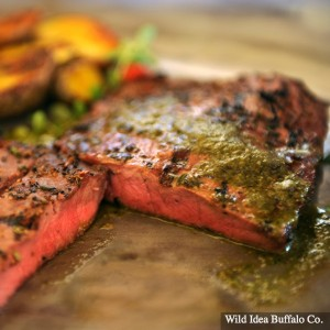 Wild Idea Buffalo Buffalo Flat Iron Steak