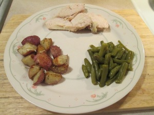 Baked Chicken red Potatoes 006
