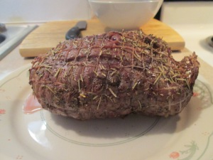 Easter Veal Shoulder 2014 003