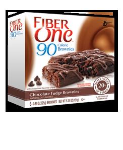 Fiber 1 90 calorie Choc Brownie
