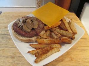 Grilled Turkey Burger 001