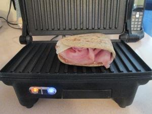 Ham Panini mac and cheese 004