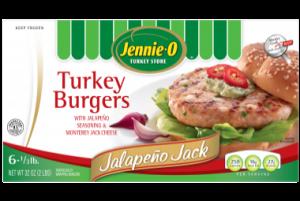 Jennie - O Jalapeno Jack Turkey Burgers