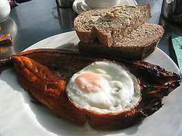 Kippers for breakfast in England.