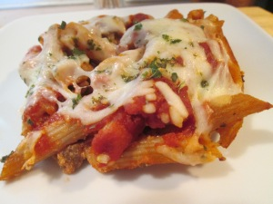 Turkey Sausage Baked Penne 007