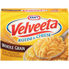 Velveeta Whole Grain Rotini and Cheese