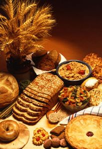 Wheat is used in a wide variety of foods.