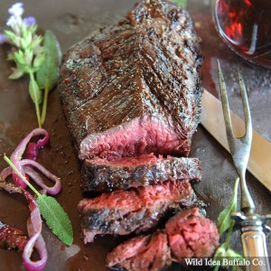 Wild Idea Buffalo Hanging Tender Steak