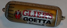 A conventional log of Goetta