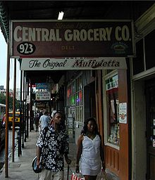 Central Grocery, the originator of the muffuletta