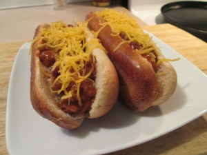 Chili and Cheese Coneys 008