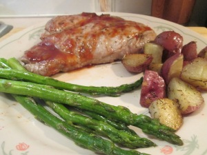 Grilled Chops, Red Potatoes 004