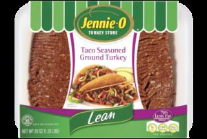 Jennie O Lean Taco Seasoned Ground Turkey