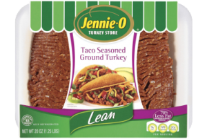Jennie O Lean Taco Seasoned Ground Turkey