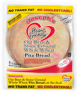 Joseph's Heart Friendly Whole Wheat Flour Pita Bread