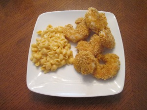 Panko Baked Shrimp Mac and Cheese 007